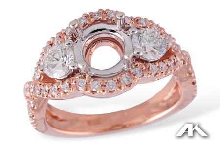 Rose Gold Bridal Robinson Jewelers