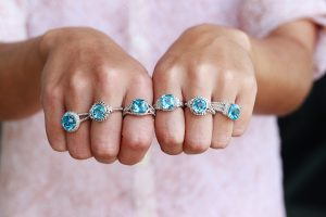 Blue topaz Colore SG Jewelry